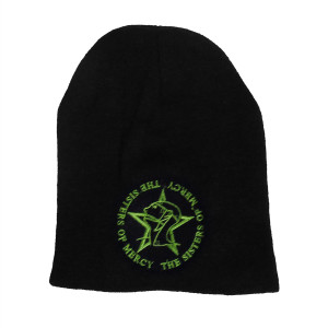 The Sisters of Mercy Logo Embroidered Knit Beanie