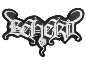 "Beherit Logo 5x2"" Embroidered Patch"