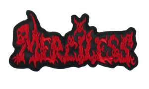 """Merciless Logo 5x2"""" Embroidered Patch"""