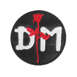 "Depeche Mode Violator Logo 3x3"" Embroidered Patch"