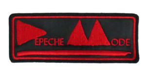 "Depeche Mode Delta Machine 5x2"" Embroidered Patch"