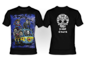 Mystery Machine Serial Killer Crew T-shirt