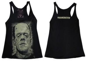 Frankenstein Sleeveless Girls T-Shirt