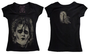Edward Scissorhands Girls T-Shirt