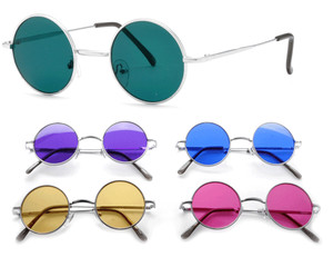 Seraph Metal Round Color Sunglasses