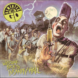 "Demented Are Go - Welcome Back To Insanity Hall 4x4"" Color Patch"