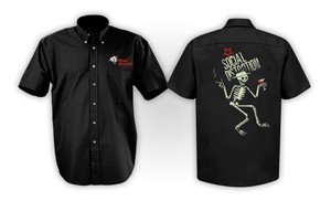 Social Distortion Skelly Workshirt