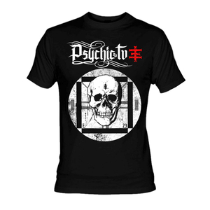 Psychic Tv Skull TV T-Shirt