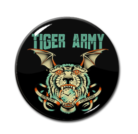 "Tiger Army - Spring Forward Tour 1"" Pin"