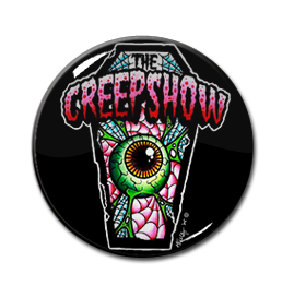 "The Creepshow - Coffin Eye 1"" Pin"