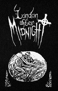 "London After Midnight - S/T 3.5x5"" Printed Patch"
