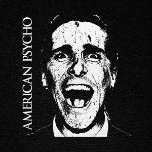 "American Psycho Bateman 4x4"" Printed Patch"