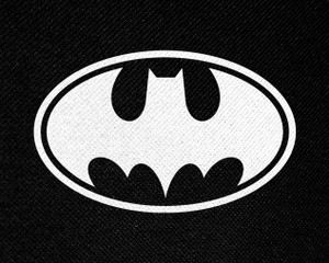 "Batman Logo 5x4"" Printed Patch"
