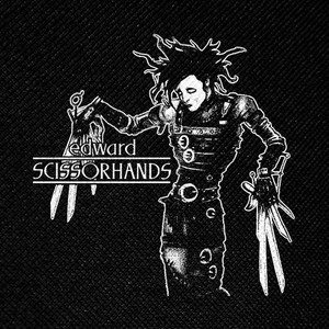 "Edward Scissorhands 4x4"" Printed Patch"