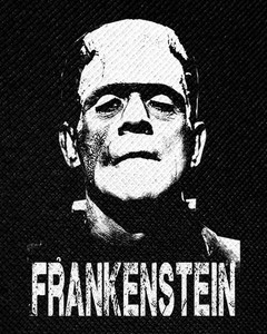 "Frankenstein 4x5"" Printed Patch"