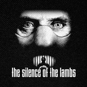 "The Silence of the Lambs Hannibal 4x4"" Printed Patch"
