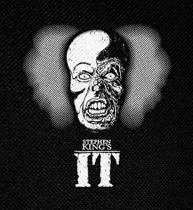 "Stephen King's IT Pennywise Burned Face 4x4"" Printed Patch"