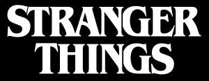 "Stranger Things Logo 5x2.5"" Printed Sticker"