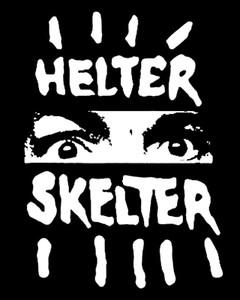 """Helter Skelter 3.5x4"""" Printed Sticker"""