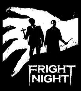 "Fright Night 3.75x4"" Printed Sticker"