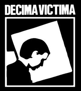 """Decima Victima  - S/T 3.75x4"""" Printed Sticker"""