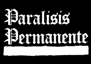 "Paralisis Permanente Logo 6x4"" Printed Sticker"