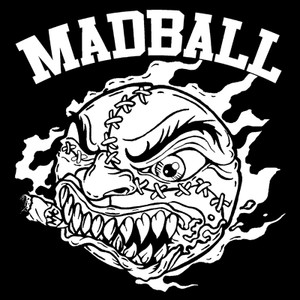 "Madball Logo 4x4"" Printed Sticker"