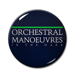 "OMD - In The Dark 1"" Pin"