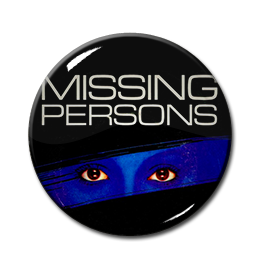 "Missing Persons - Eyes  1"" Pin"