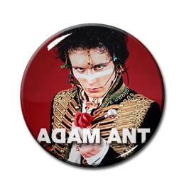 "Adam Ant 1"" Pin"