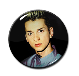 "David Gahan From Depeche Mode 1"" Pin"
