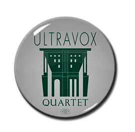 "Ultravox Quartet 1"" Pin"
