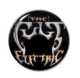 "The Cult Electric Logo 1"" Pin"