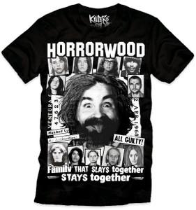 Horrorwood Serial Killers T-Shirt