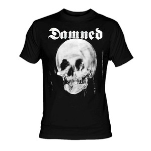 The Damned The Lady and The Skull T-Shirt