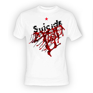 Suicide Self Title White T-Shirt