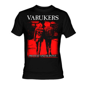 Varukers Protest and Survive T-Shirt