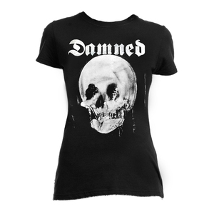 The Damned The Lady and The Skull Girls T-Shirt