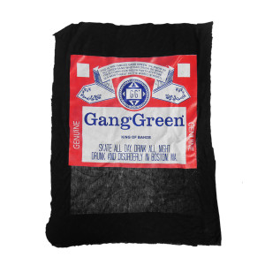 Gang Green Backpatch Moved Misprinted