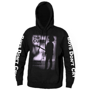 The Cure Boys Don't Cry Hooded Sweatshirt