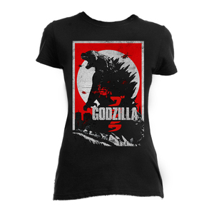 Godzilla 2014 Girls T-Shirt