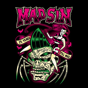 """Mad Sin - Still Mad Zombie 4x4"""" Color Patch"""