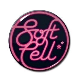 "Soft Cell Logo 1.5"" Pin"