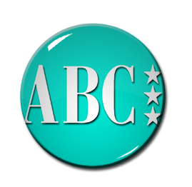 "ABC Logo 1.5"" Pin"