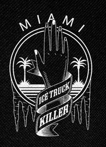 "Dexter Ice Truck Killer 4x4.5"" Printed Patch"
