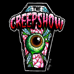 "The Creepshow - Psycho Ball & Chain 4x4"" Color Patch"