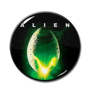 "Alien - Egg 1.5"" Pin"