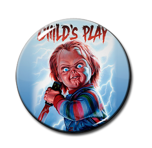 "Child's Play Chucky 1.5"" Pin"
