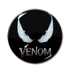 "Venom Movie 1.5"" Pin"