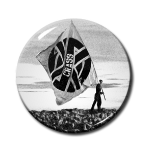 "Crass Flag 2.25"" Pin"